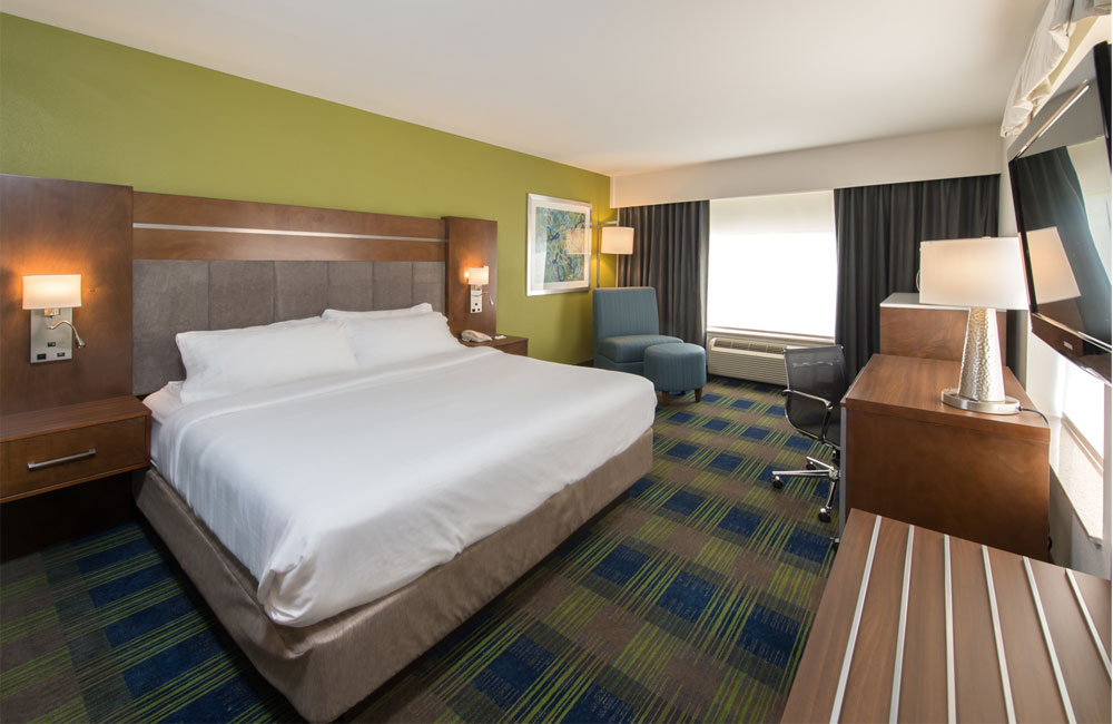 Fresh Contemporary Room Design Awaits Holiday Inn Express Guests