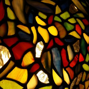 tiffany glass feature of Clifton Park Library presentation