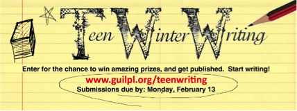 Capital Region Teen Winter Writing Contest