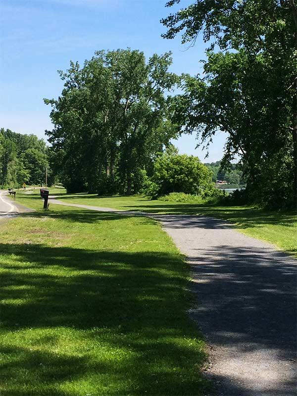 Crescent Road trail