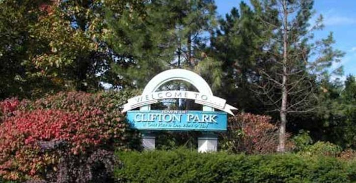 Clifton park sign