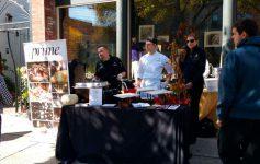 vendor booth at festival