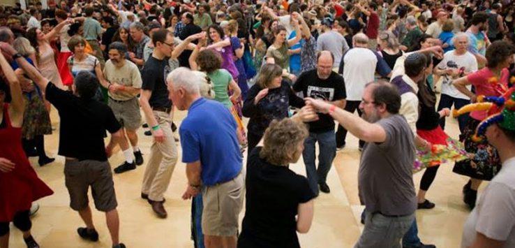 large group dance