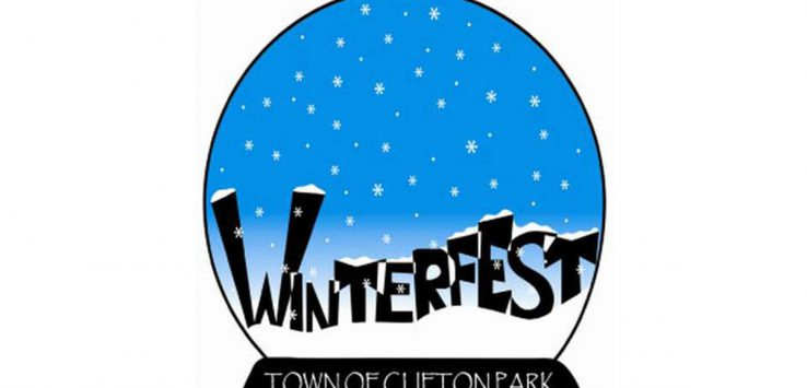 logo for clifton park winterfest