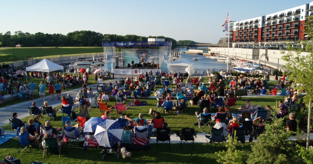 harbor jam concert series