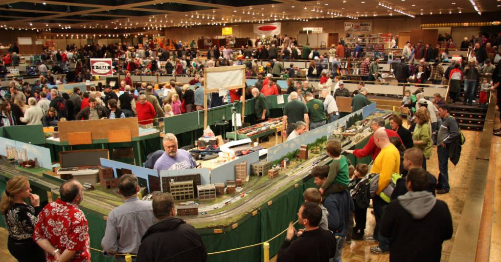 a model train show