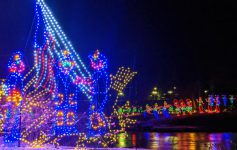 bright and colorful holiday light displays
