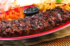 Jack Daniel's Ribs & Shrimp at TGI Friday's