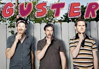 Promotional photo of the band Guster