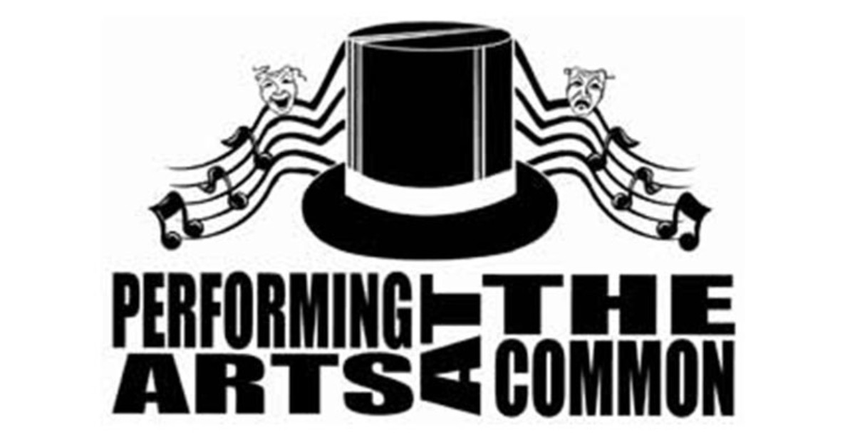 logo for performing arts at the common