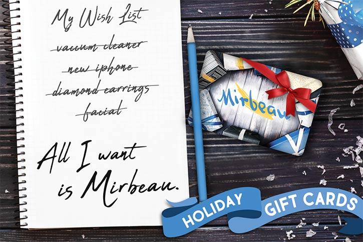 spa mirbeau gift card