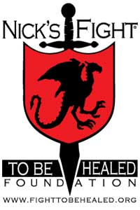 Nicks fight to be healed logo